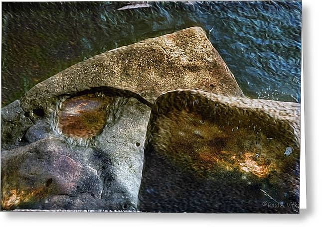 Stone Sharkhead Greeting Card
