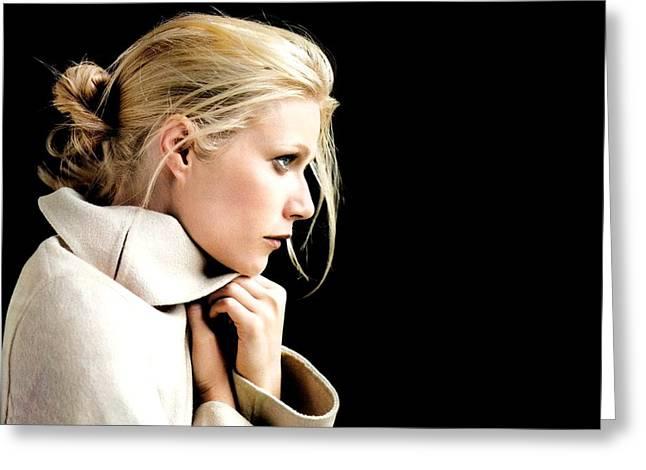 2518 Celebrity Gwyneth Paltrow  Greeting Card