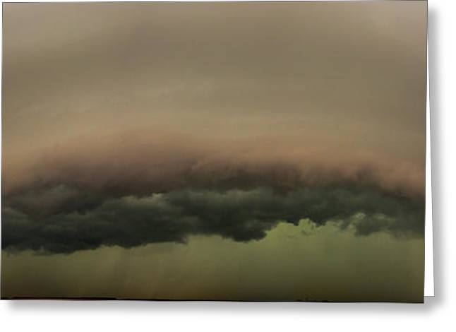 Greeting Card featuring the photograph 3rd Storm Chase Of 2015 by Dale Kaminski