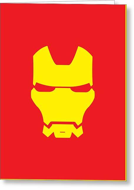 Iron Man Greeting Card