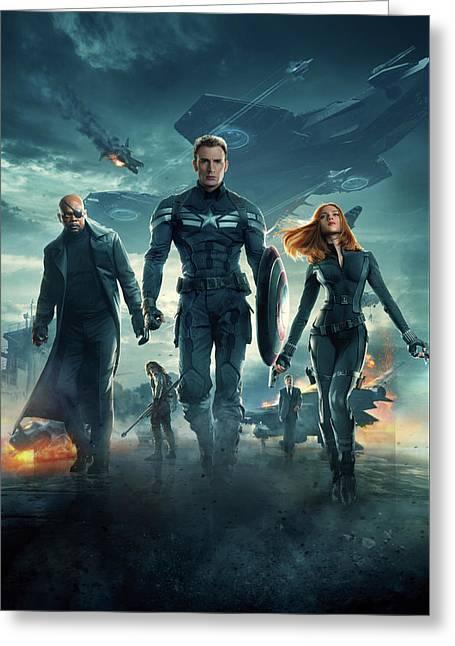 Captain America Civil War 2016 Greeting Card