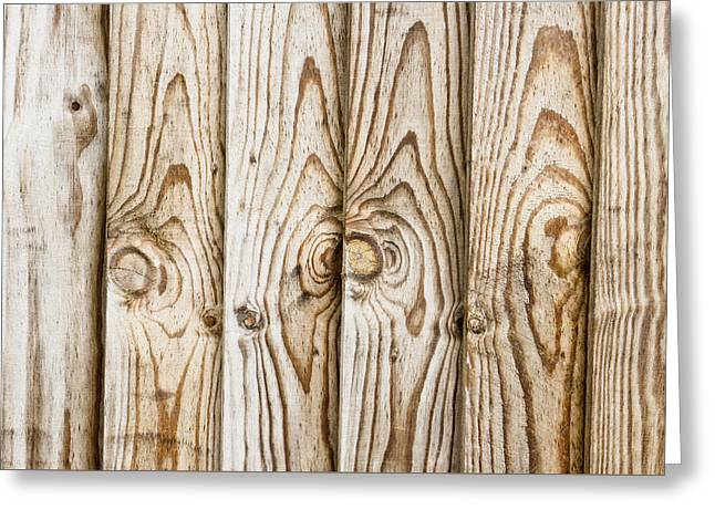 Fence Panels Greeting Card