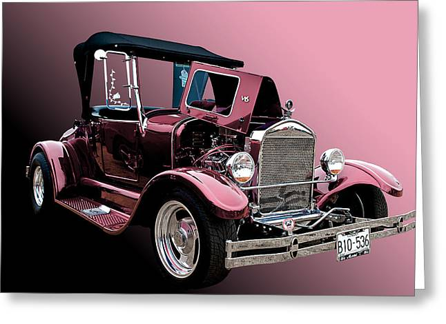 28 Ford Greeting Card by Jim  Hatch