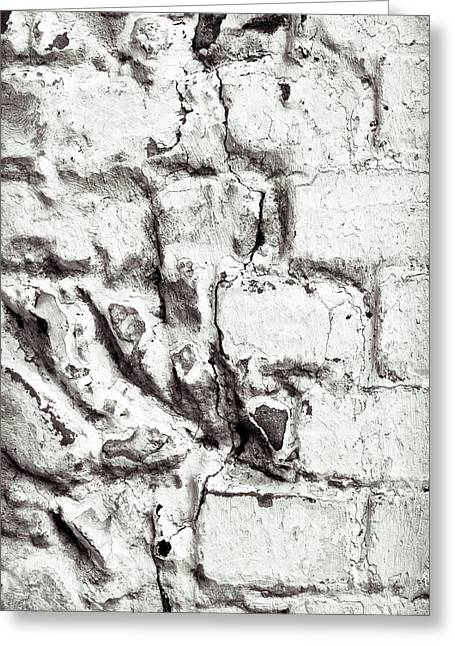 Stone Wall Greeting Card by Tom Gowanlock