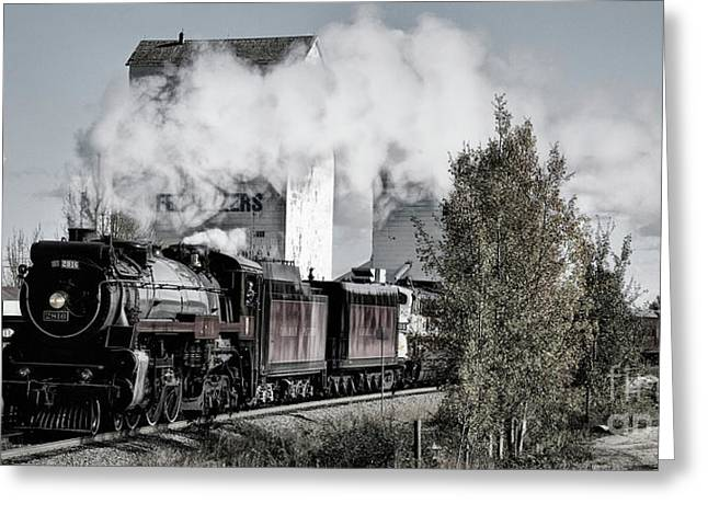 Greeting Card featuring the photograph 2816 At Dewinton by Brad Allen Fine Art