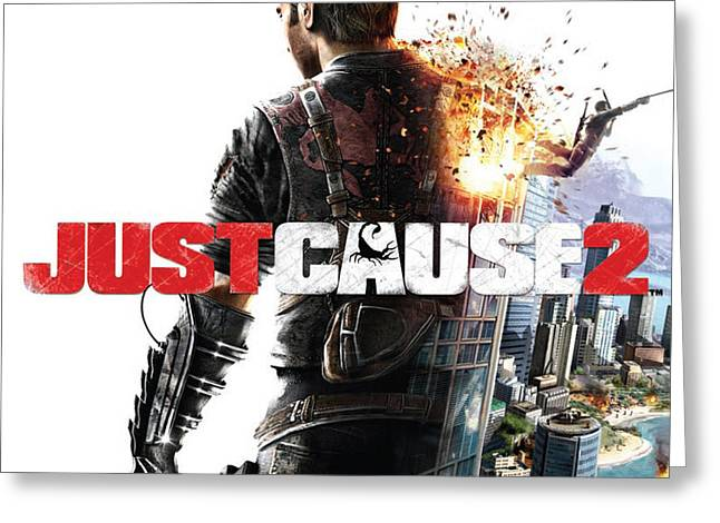 28749 Just Cause Just Cause 2 Greeting Card by F S