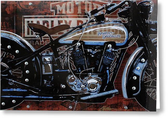 29 Harley Greeting Card
