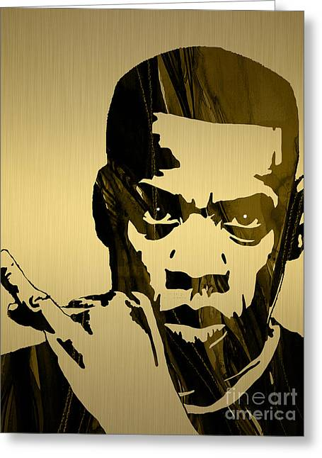 Jay Z Collection Greeting Card by Marvin Blaine