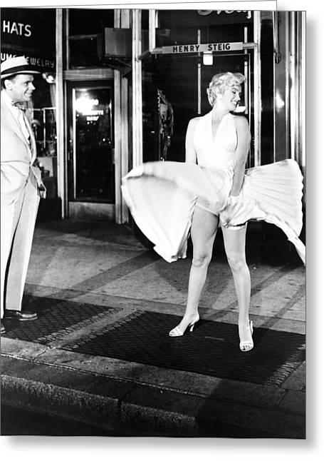 Marilyn Monroe (1926-1962) Greeting Card