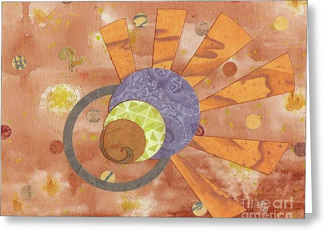 Greeting Card featuring the mixed media 2life by Desiree Paquette