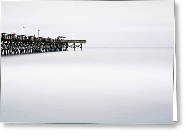 2nd Avenue Pier Sunrise Greeting Card by Ivo Kerssemakers