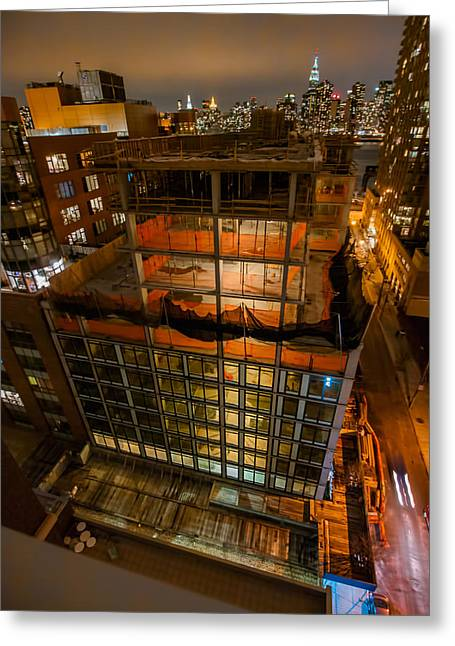 Greeting Card featuring the photograph 2nd St Lic 1 by Steve Sahm