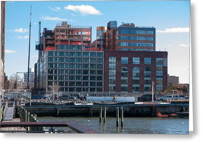 Greeting Card featuring the photograph 2nd St Lic 3 by Steve Sahm