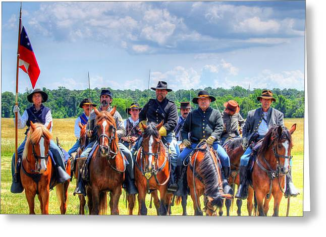 2nd Us Cavalry  Greeting Card