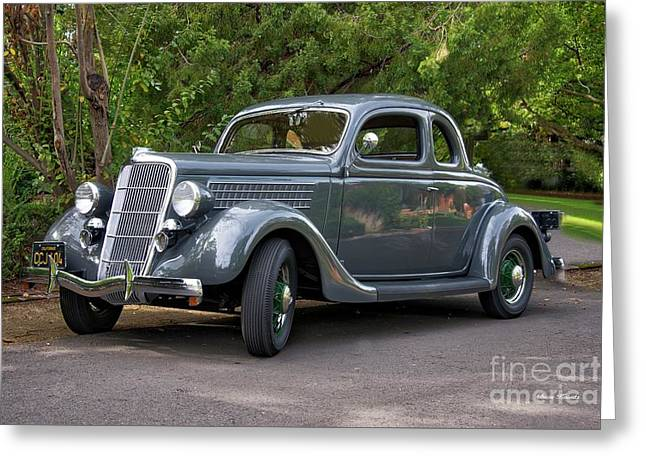1935 Ford Coupe Greeting Card by Dave Koontz