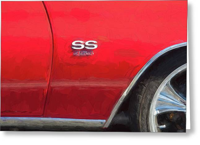 1970 Chevy Chevelle 454 Ss  Greeting Card by Rich Franco