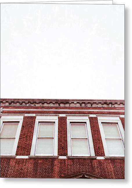 A Building Exterior  Greeting Card