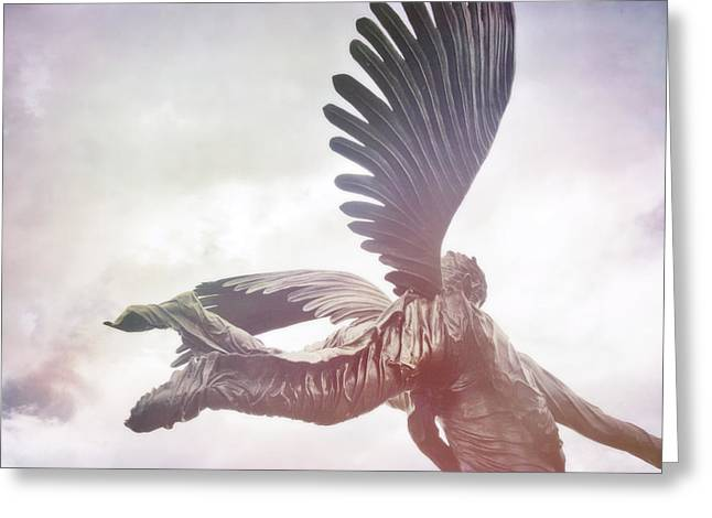 Airborne Angel Greeting Card by JAMART Photography