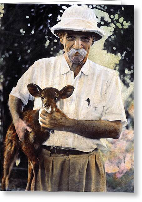 Albert Schweitzer Greeting Card