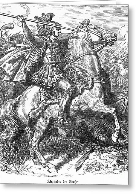 Alexander The Great Greeting Card by Granger
