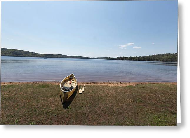 Algonquin Park, Ontario - Canada Greeting Card by Josef Pittner