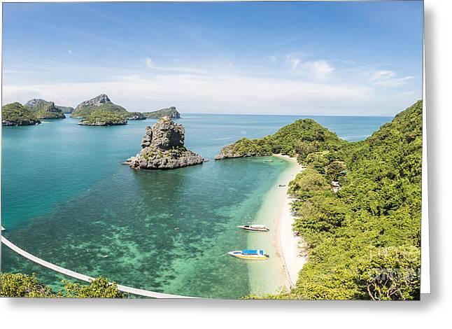 Ang Thong Marine National Park Greeting Card