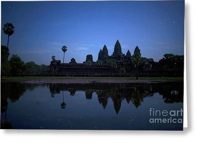 Angkor Wat Greeting Card by Stefano SmallBoy Tomassetti - Photodreamer