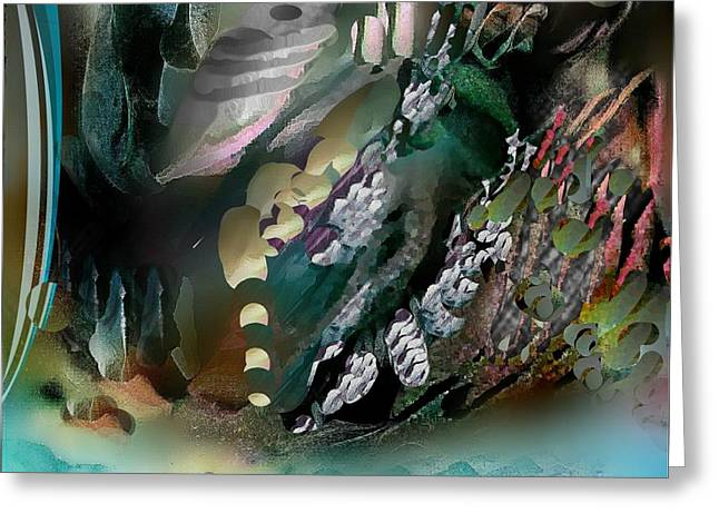Divine Colors Of Art Greeting Card