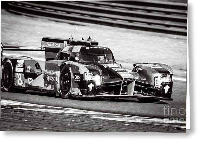Audi R18 E-tron Quattro Le Mans Prototype Race Car Greeting Card