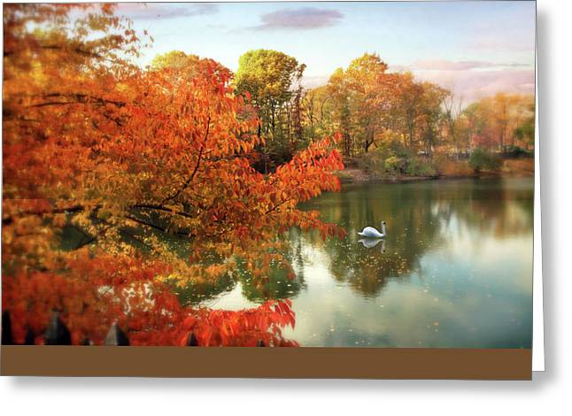 Autumn Splendor  Greeting Card by Jessica Jenney