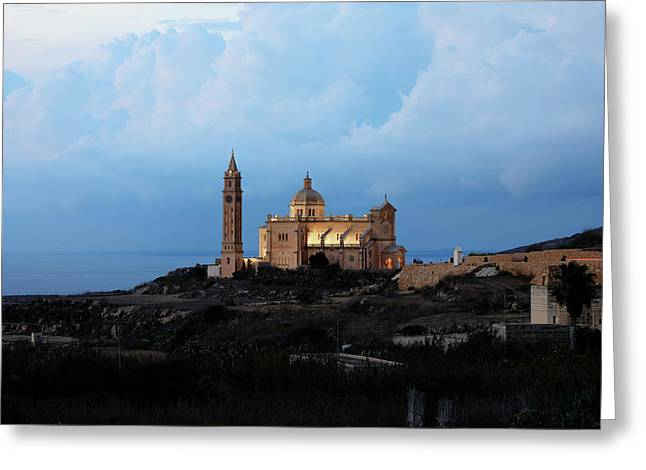 Basilica Ta Pinu - Gozo Greeting Card