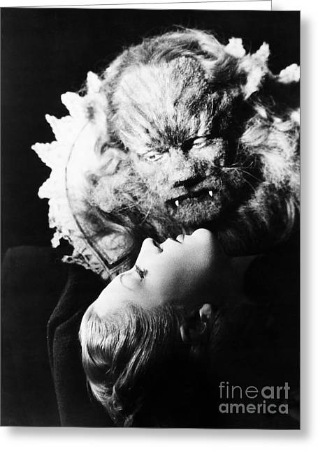 Beauty And The Beast, 1946 Greeting Card