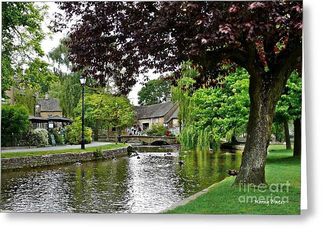 Bourton-on-the-water Greeting Card