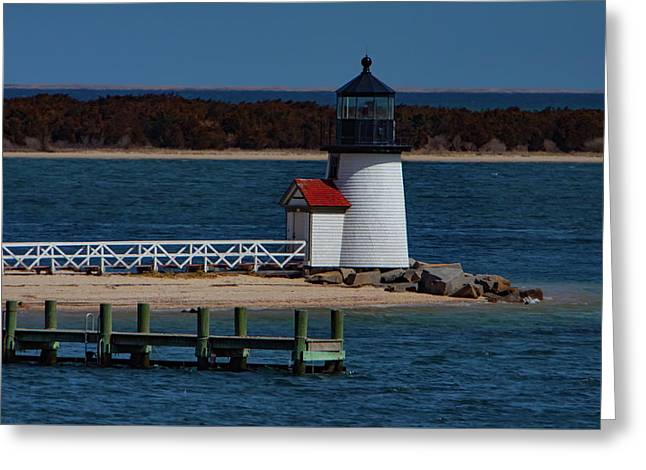Brant Point Lighthouse Nantucket Greeting Card
