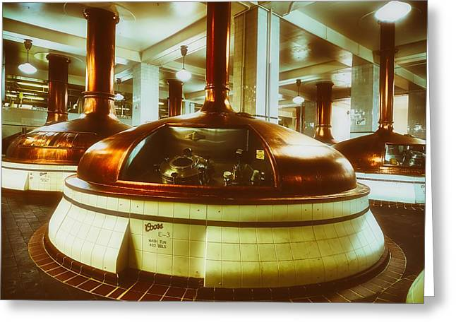 Brewhouse Kettles Greeting Card by L O C