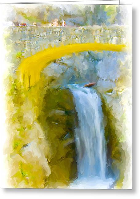 Bridge Over Troubled Waters Greeting Card
