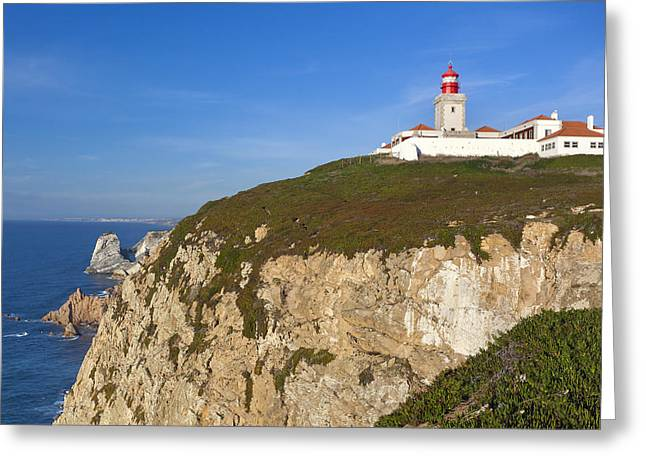 Cabo Da Roca Greeting Card by Andre Goncalves