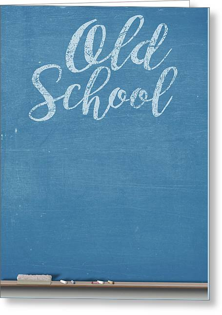 Chalk Board Split Greeting Card