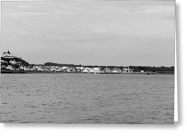 Coastline At Molle In Sweden Greeting Card