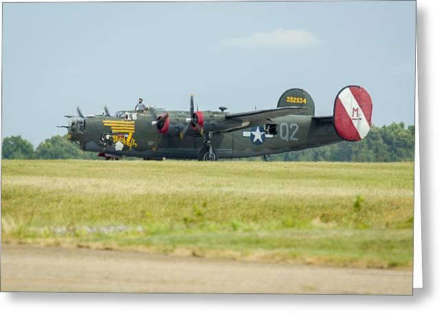 Consolidated B-24j Liberator Greeting Card