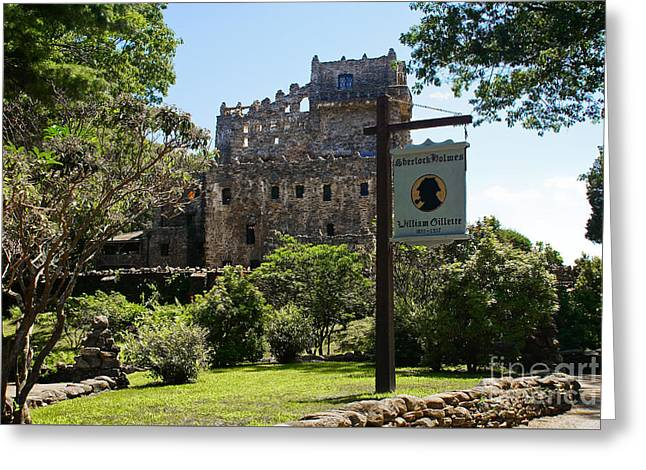 Gillette Castle State Park. East Haddam, Connecticut. Greeting Card