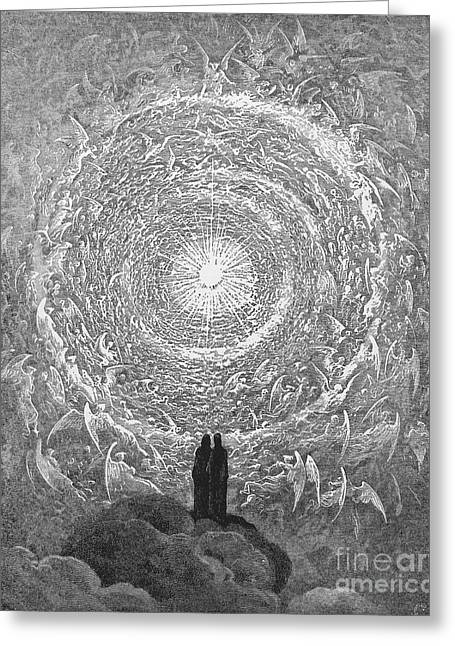 Dante Paradise Greeting Card