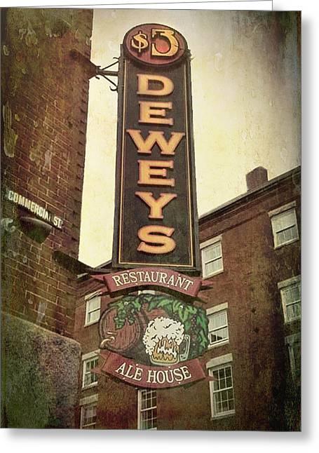 $3 Deweys - Maine Greeting Card