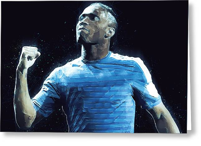Didier Drogba Greeting Card