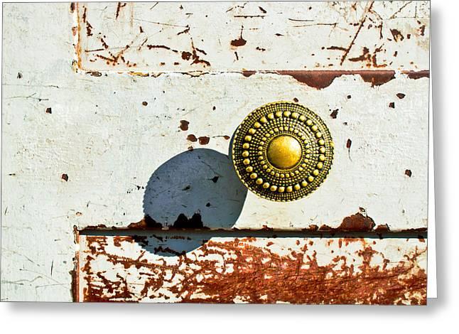 Door Handle Greeting Card