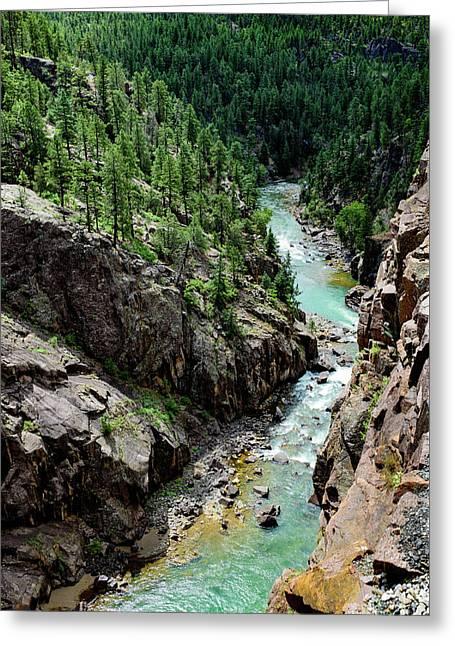 Durango - Silverton Narrow Gauge Railroad - Colorado Greeting Card