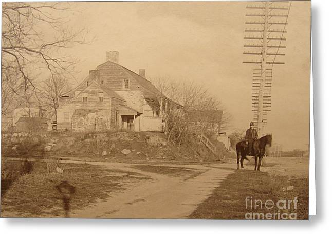 Dyckman Farmhouse  Greeting Card