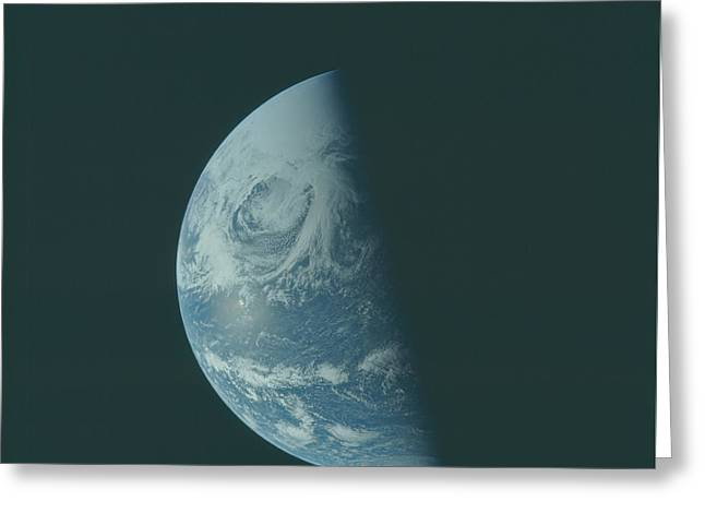 Earth The Blue Marble  Greeting Card by Artistic Panda