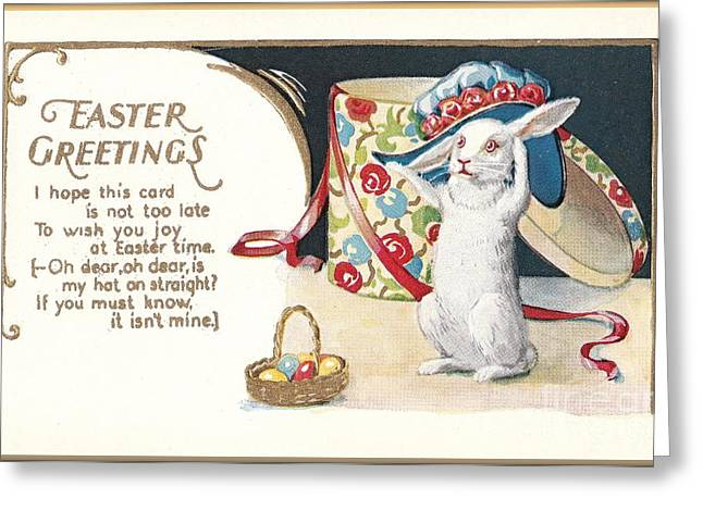 Easter Greetings Greeting Card by David and Lynn Keller