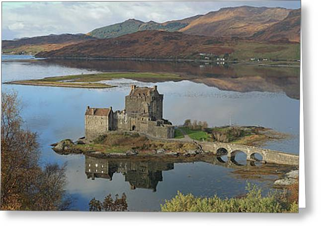 Eilean Donan Castle - Panorama Greeting Card